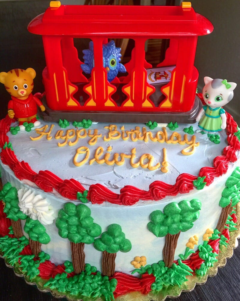 Happy Birthday Daniel Tiger Themed Cake Yelp