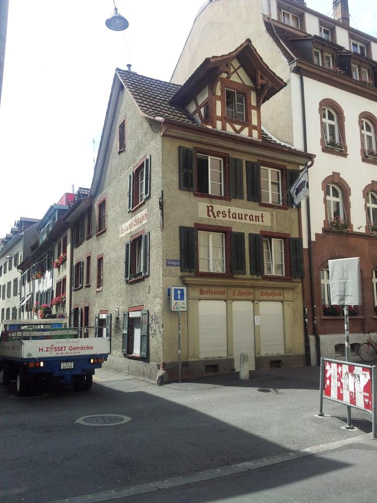 Schafeck cuisine suisse schafg sslein 7 b le basel - Restaurant cuisine moleculaire suisse ...