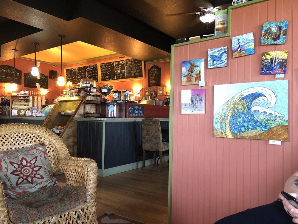The Dancing Turtle Coffee Shop: 58079 NC-12, Hatteras, NC