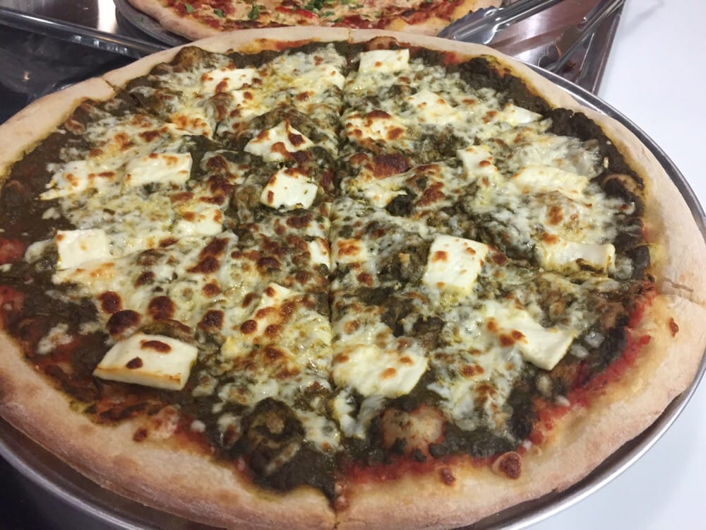 Image result for saag paneer pizza