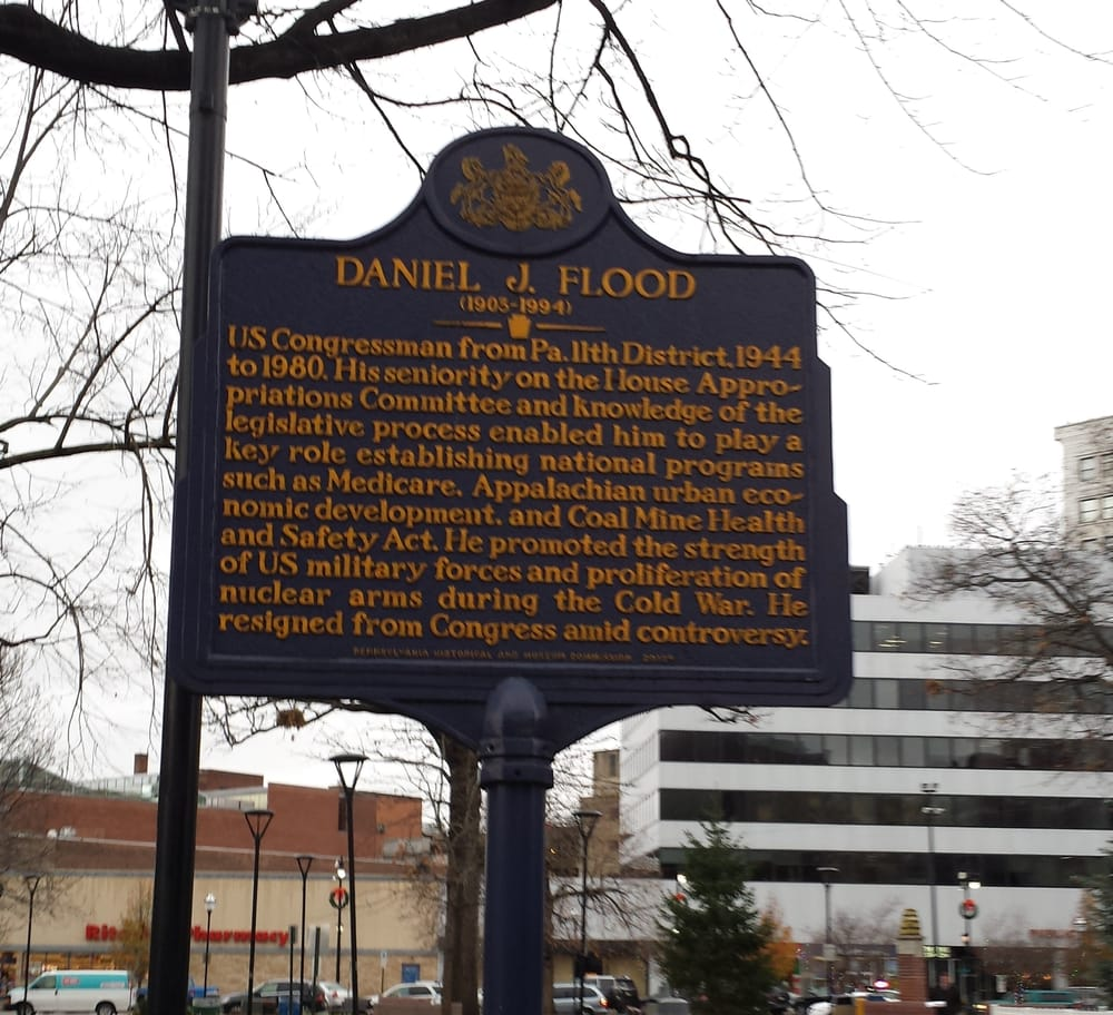 Public Square Park: 1 N Main St, Wilkes-Barre, PA