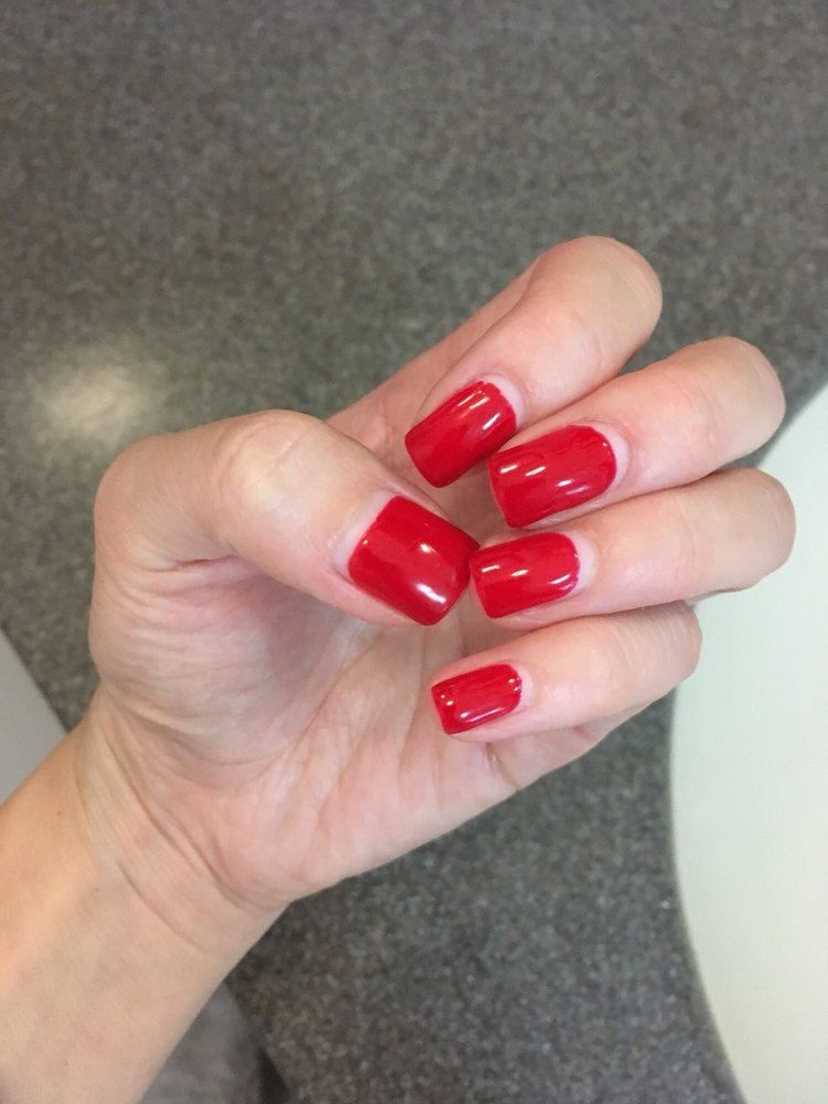 my nails grow really fast! this is almost three weeks and the only ...
