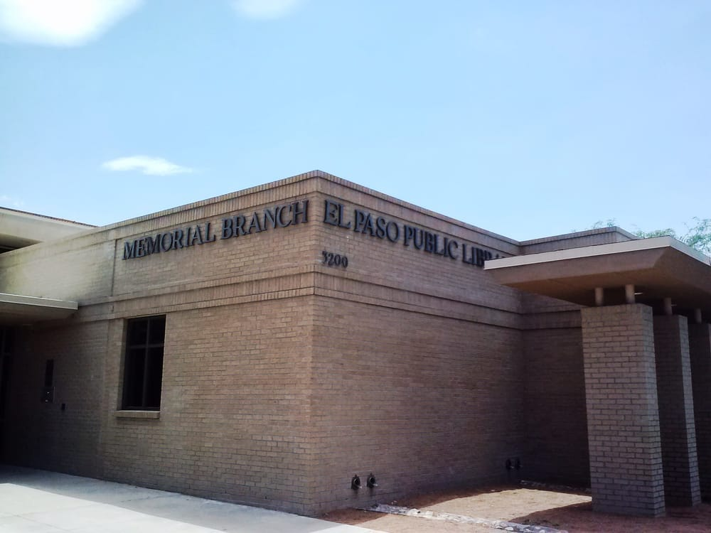 El Paso Public Library Memorial Park Branch