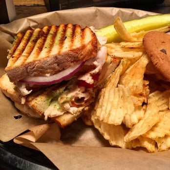 Photo Of Brown Bag Sandwich Anchorage Ak United States Turkey Pesto On