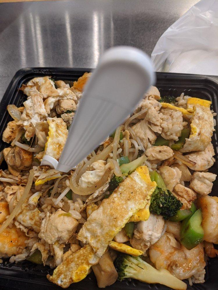 Food from Ninja grill