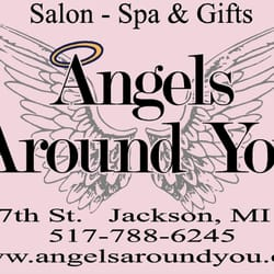 Angels around you nail salons 205 17th st jackson mi for 517 salon jackson mi