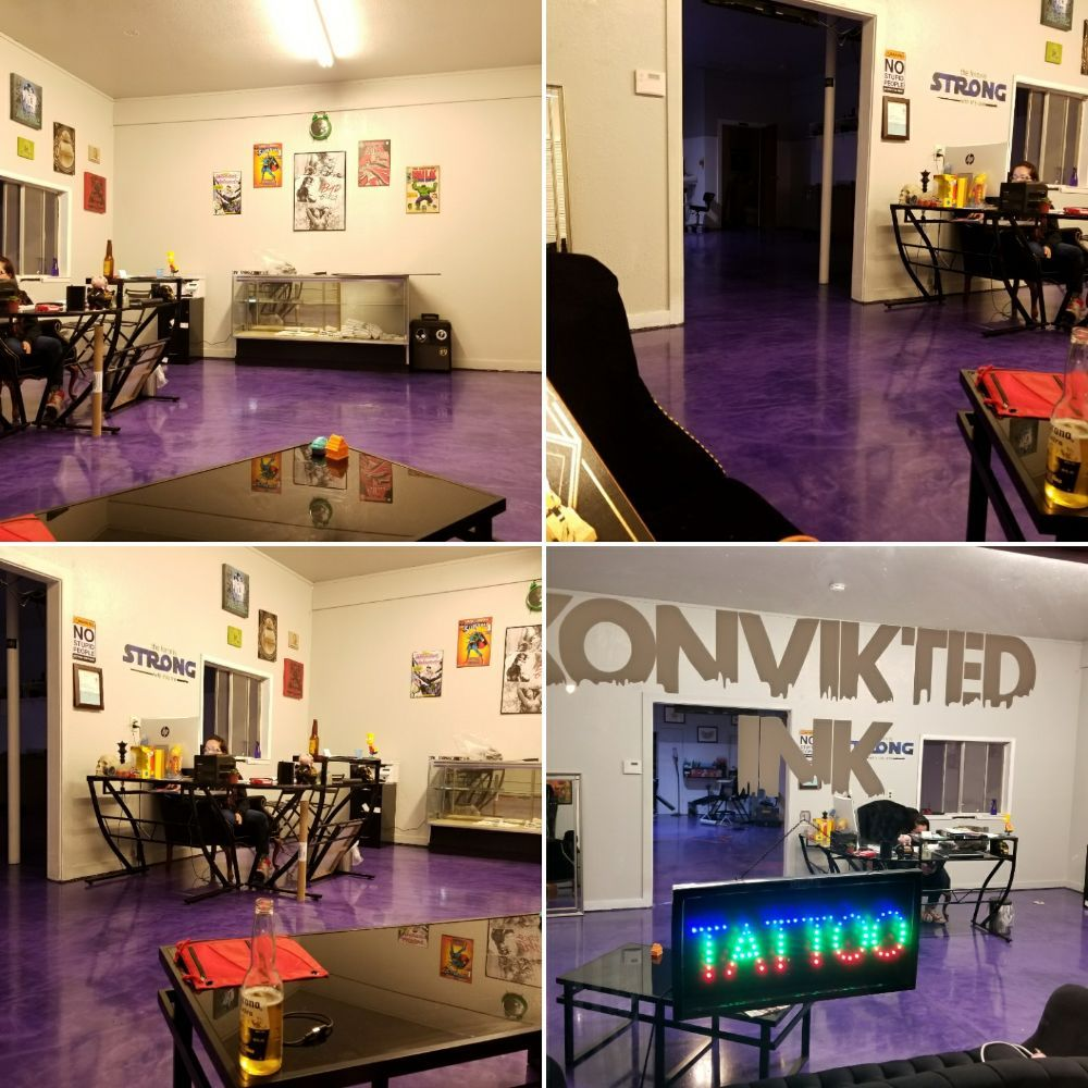 Konvikted Ink: 14096 Lakeshore Dr, Clearlake, CA