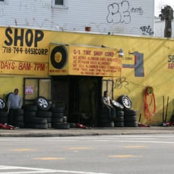 G S Corp New Used Tire Shop Wheel Rim Repair 2 Sheridan Ave