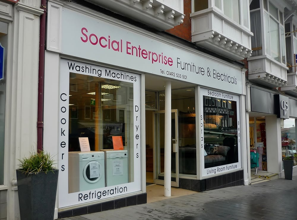 Social enterprise furniture electricals closed for Better homes and gardens furniture customer service phone number