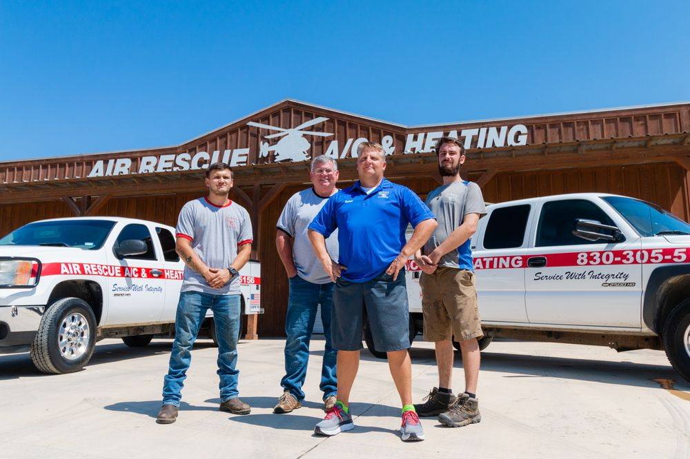 Air Rescue A/C & Heating: 126 W Schulz St, Marion, TX