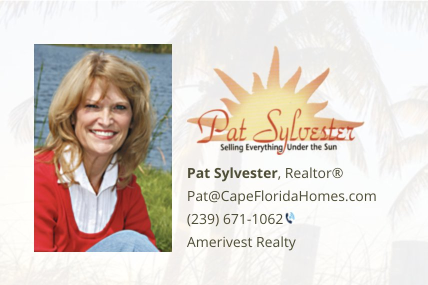 Patricia Sylvester - Amerivest Realty of Cape Coral - Contact Agent