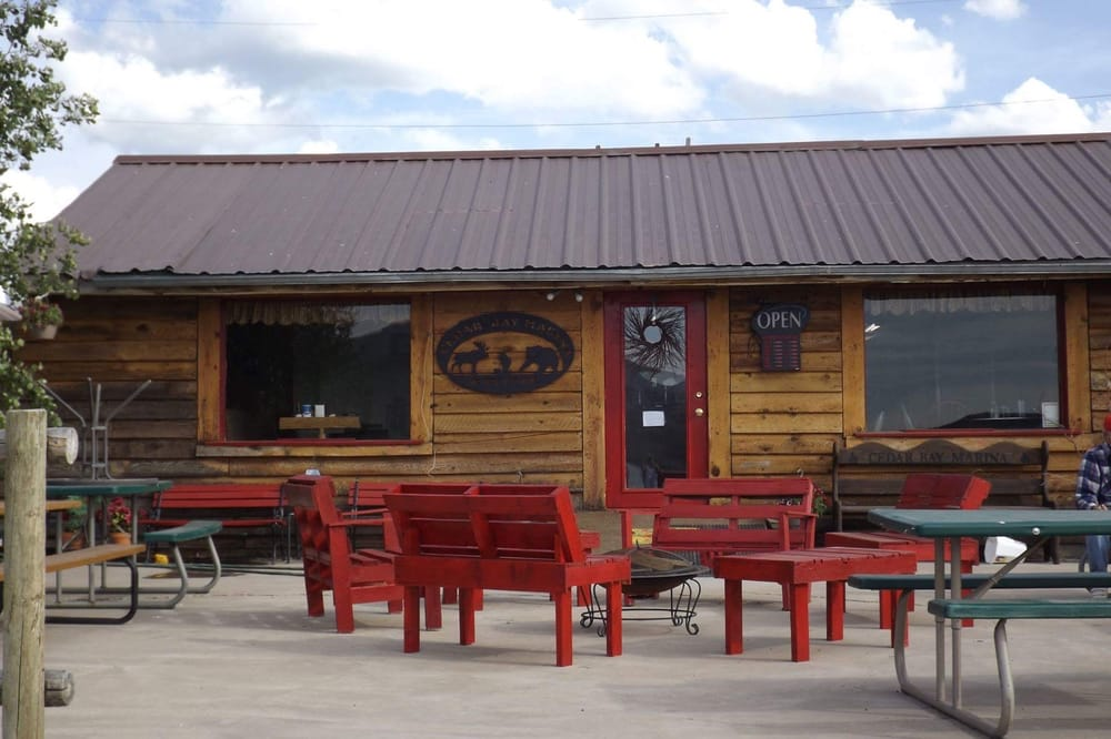 Cedar Bay Marine and the cafe: 3429 Hwy 34, Soda Springs, ID