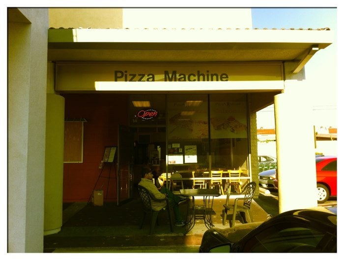 pizza machine gardena