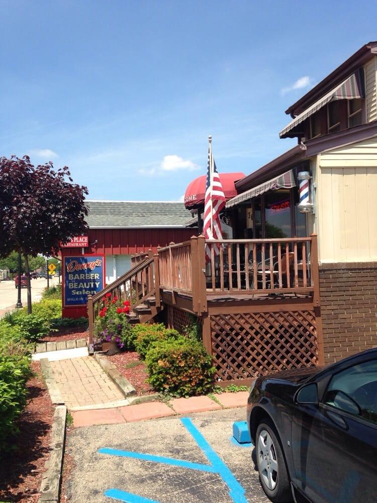 Denny's Barber Shop and 1 Hott Hair Salon: 36 Main St, Belleville, MI