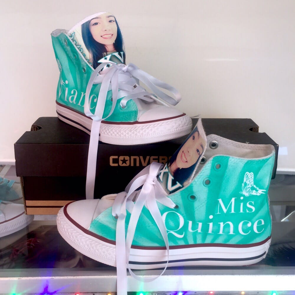 airbrushed converse sneakers