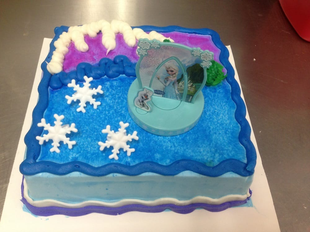 Baskin Robbins Design Your Own Cake : DecoPack Frozen design cake - Yelp