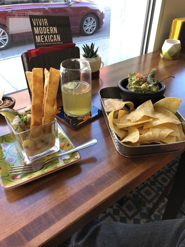 Food from Vivir Modern Mexican