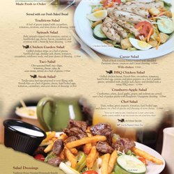 Photo Of Traditions Restaurant Bakery Martinsburg Pa United States Salads Page
