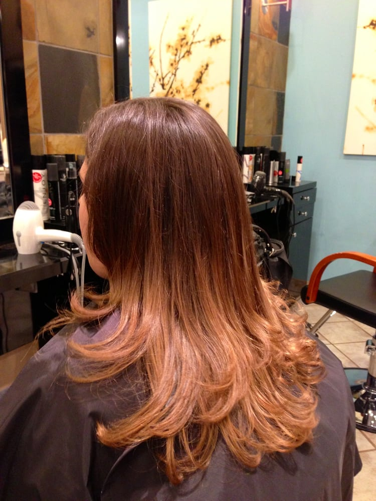 Magnificent ombre color by andrea yelp for Salon les amis
