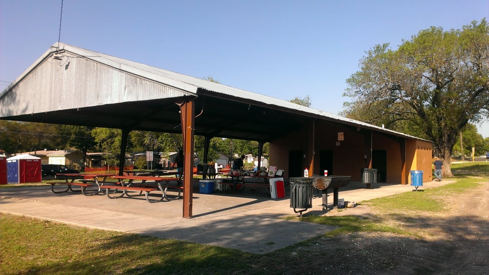 The covered pavilion at the park yelp for Swimming pool repairs san antonio