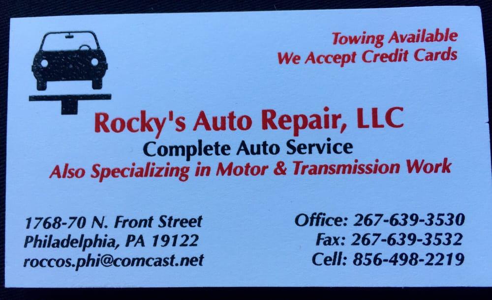 Rocky's Auto Repair