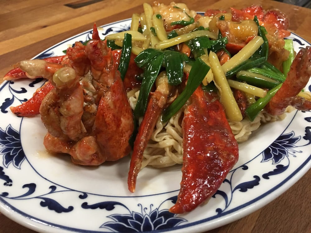 how to cook lobster with ginger and scallion