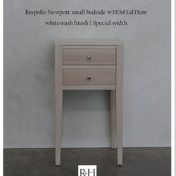 Photo Of Rose And Heather   Auckland, New Zealand. Bespoke Newport Bedside  In Whitewash ...