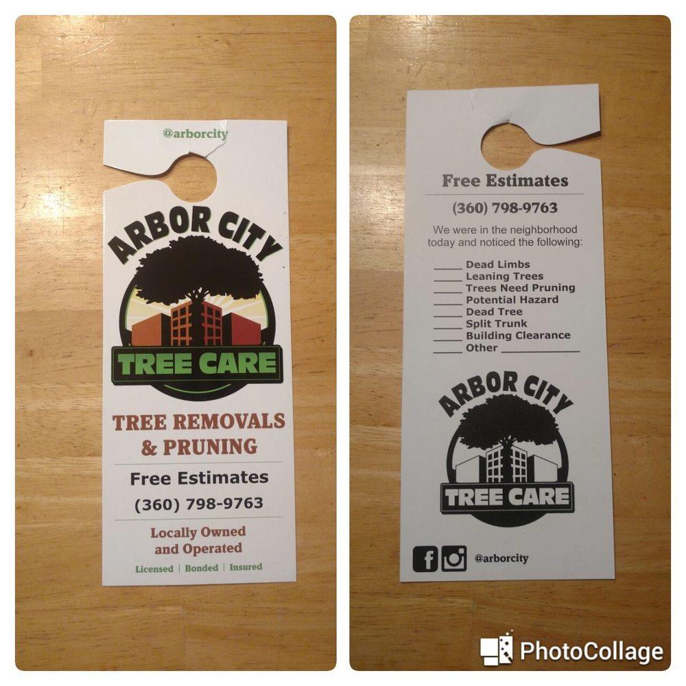 Arbor City Tree Care: 7604 NE 101st, Vancouver, WA
