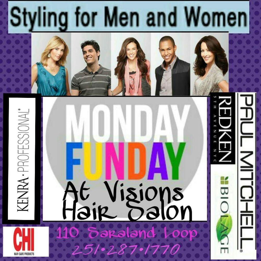 Visions Hair Salon: 110 Saraland Lp, Saraland, AL