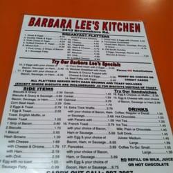 Barbara Lee S Kitchen Closed