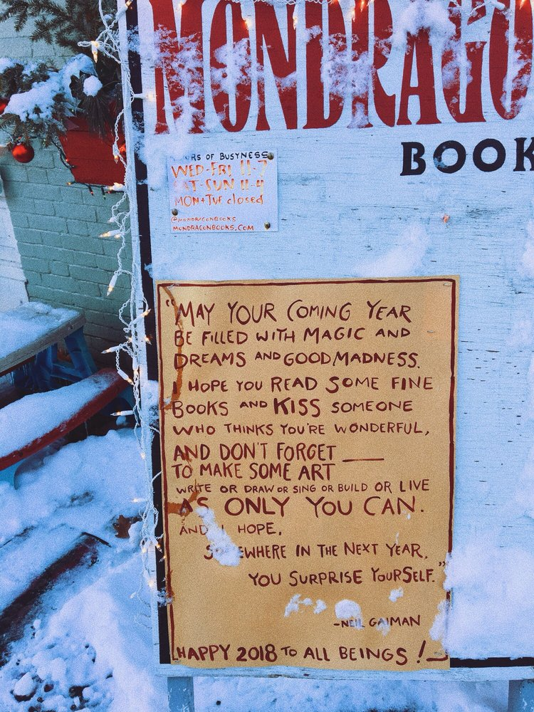 Mondragon Book Store: 111 Market St, Lewisburg, PA