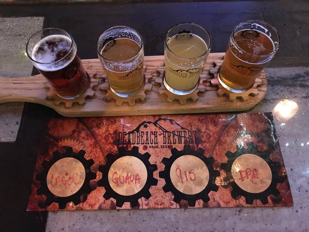 DeadBeach Brewery: 406 S Durango St, El Paso, TX