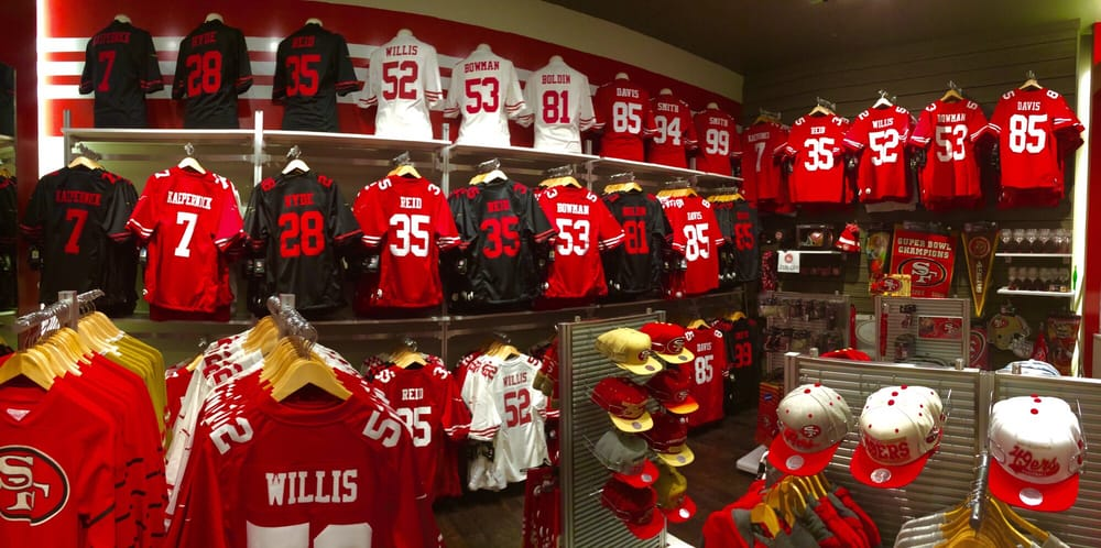 wholesale dealer 036eb 8736f Big Selection of 49ers Jerseys - The Real Deal - Yelp