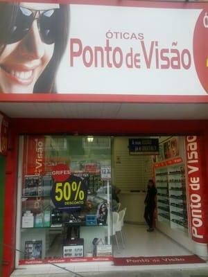 1525881b399 Ponto de Visão - Óticas - Av. Prefeito Erasto Gaertner 417