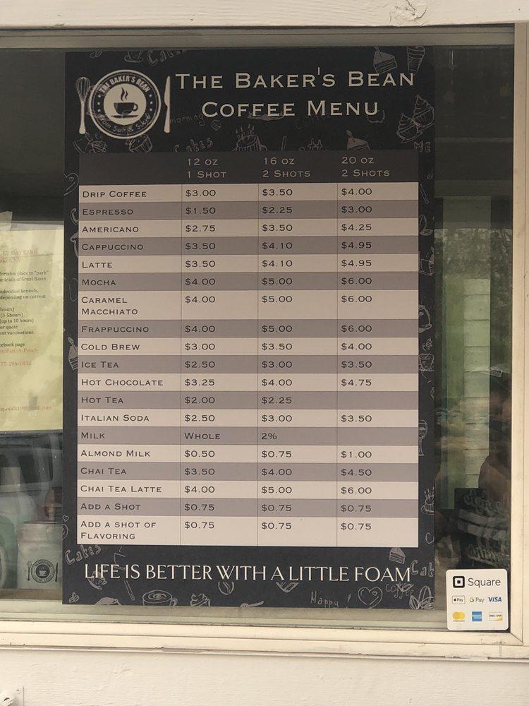 The Magic Bean Coffee Cart: Hwy 487, Baker, NV