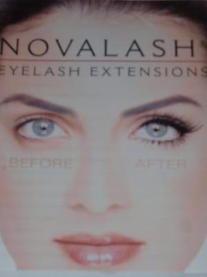 ebb6b9fb512 Novalash Eyelash Extension - Eyelash Service - 5643 W Charleston ...
