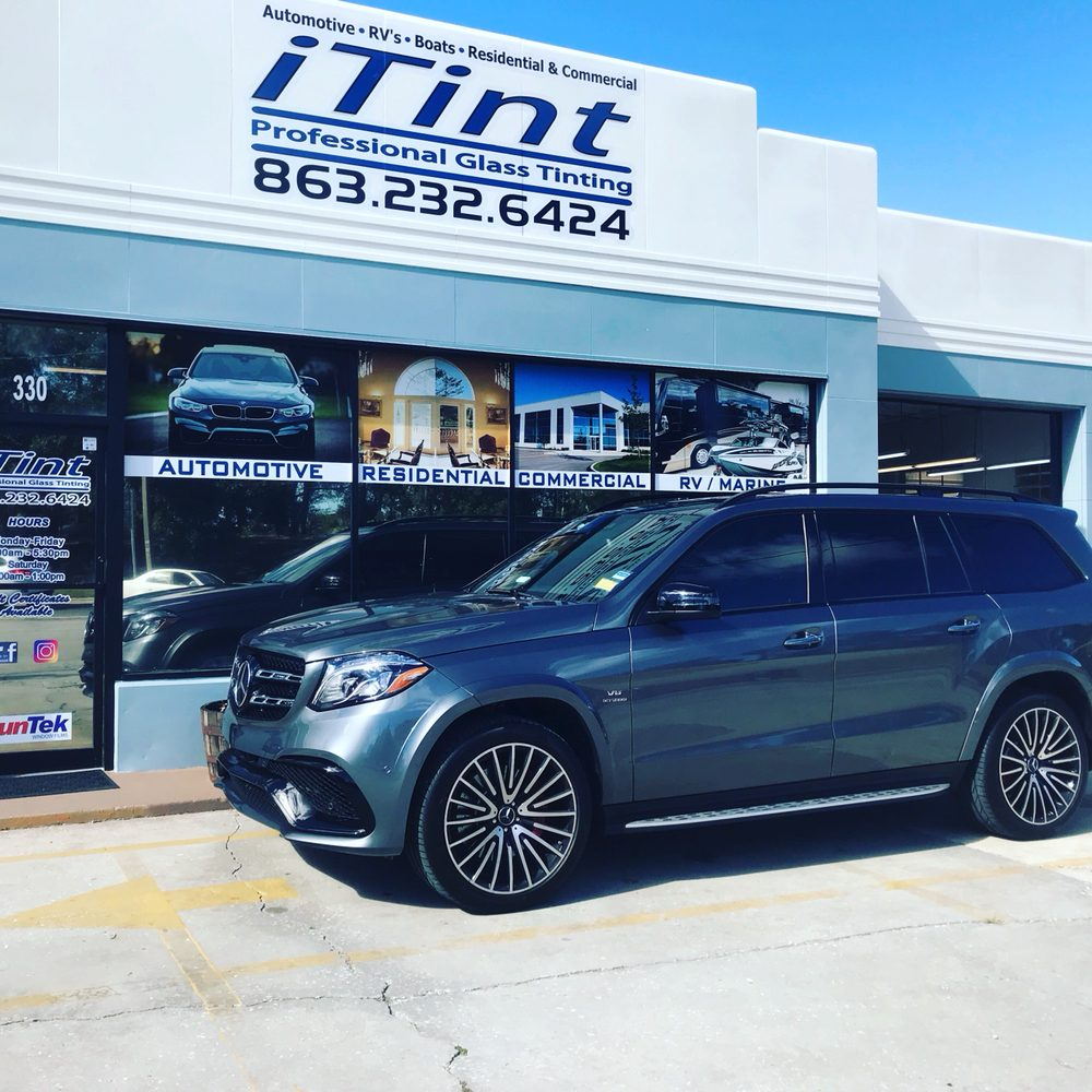 iTint Professional Glass Tinting: 330 S Scenic Hwy, Lake Wales, FL