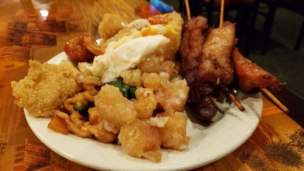 Food from King Buffet