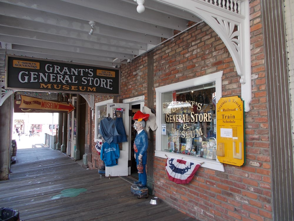 All Aboard Railroad Gifts: 59 S C St, Virginia City, NV