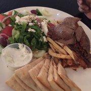 Gyro platter menu ammos authentic greek virginia beach for Ammos authentic greek cuisine