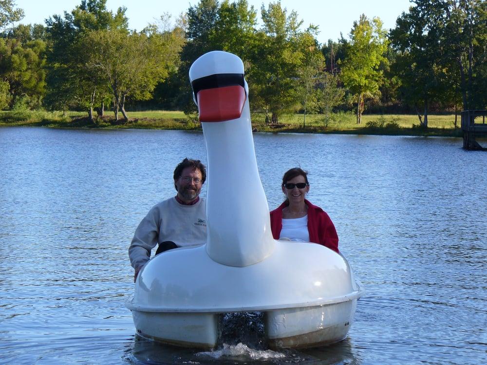 Slade Lake Pedal Boat: 80 Waterworks Rd, Edgefield, SC
