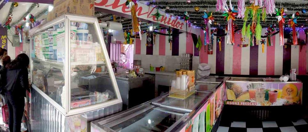 Paleteria Y Neveria La Michoacana Tezonco Ice Cream Frozen