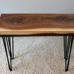 Merveilleux Photo Of EA WoodWorks   Eagan, MN, United States. Walnut Side Table