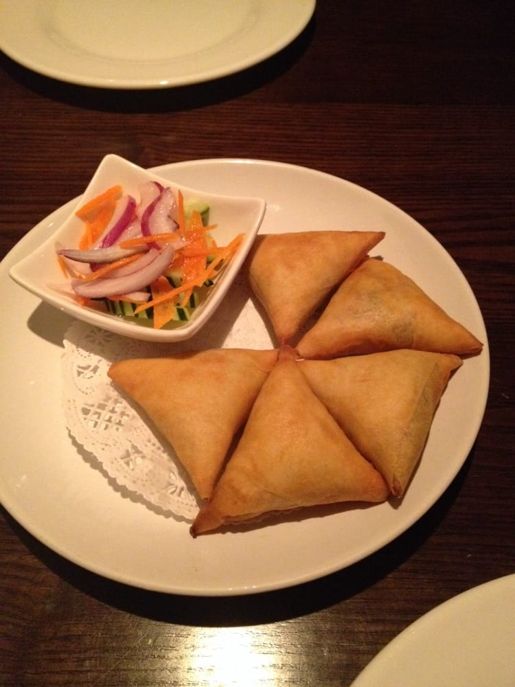 Veggie samosa yelp for 5 star thai cuisine