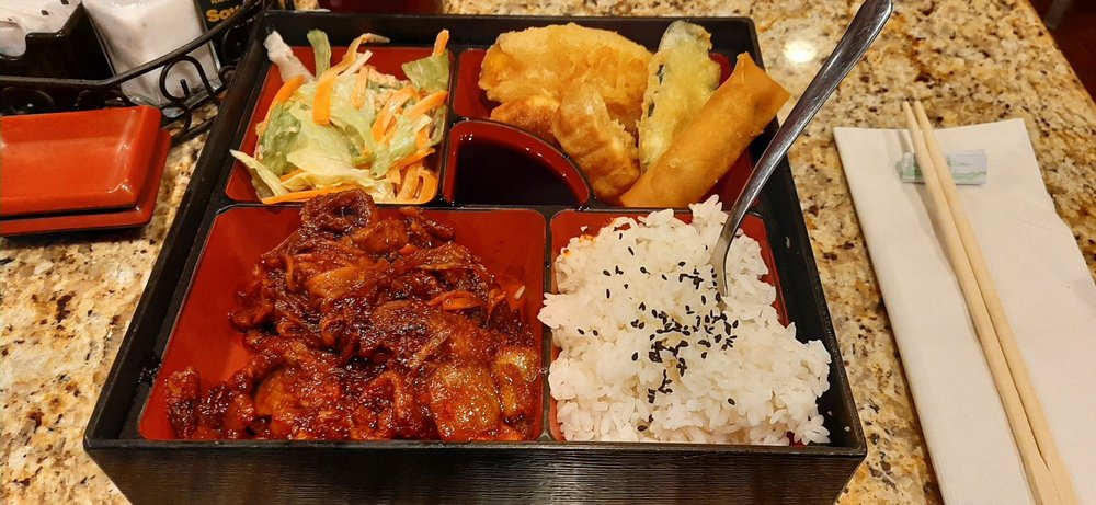 Nakamura Sushi & Korean Cuisine: 3222 Sherwood Way, San Angelo, TX