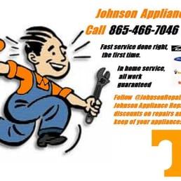 Johnson Appliance Repair Hvidevarer Og Reparation