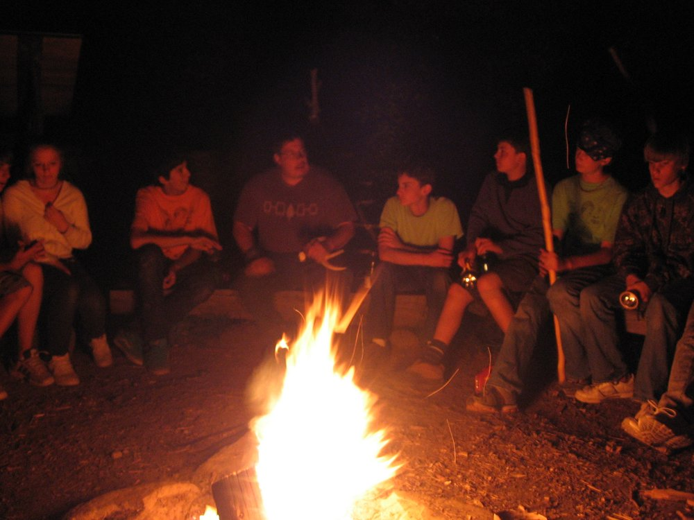 Storytelling around the Campfire - Yelp