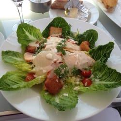 Le Georges - Paris, France. Ceasar Salad