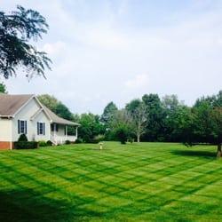 Photo Of Wyatt S Lawn And Landscape Adams Tn United States Checkerboard Stripes