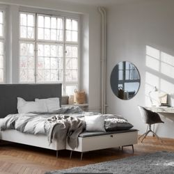 Photo Of BoConcept Cambridge   Cambridge, MA, United States. BoConcept  Lugano Queen Size